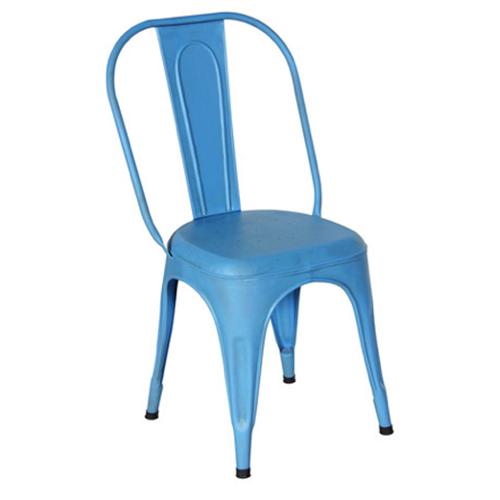 SKU: HV018 · Sky Blue Metal Chair